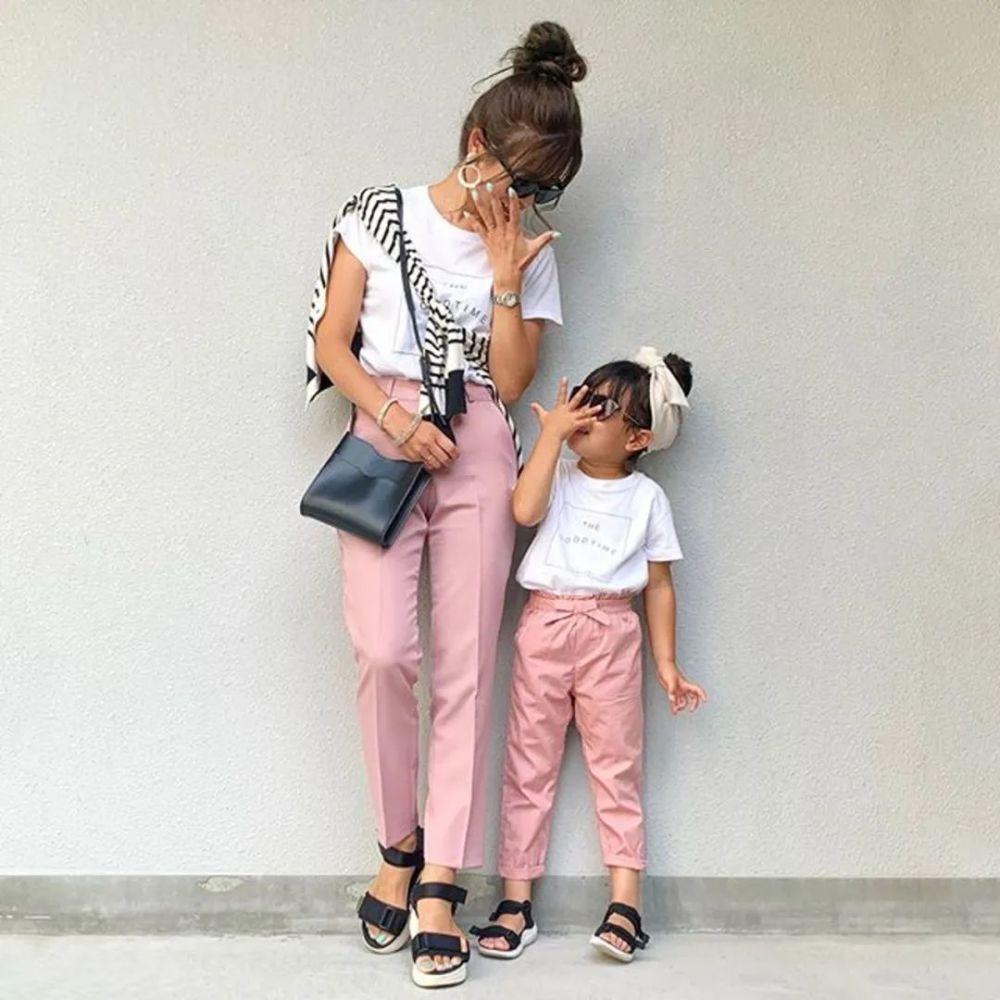 亲子装这么穿!日本妈妈只用优衣库、GU、H&M也能搭出时尚感 穿搭技巧 第2张