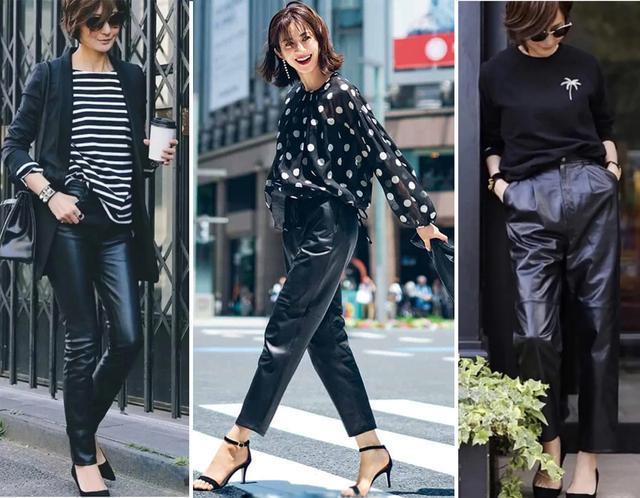 秋天黑色穿好也是一种高级,这些聪明的穿搭示范照着穿好美 穿搭技巧 第3张