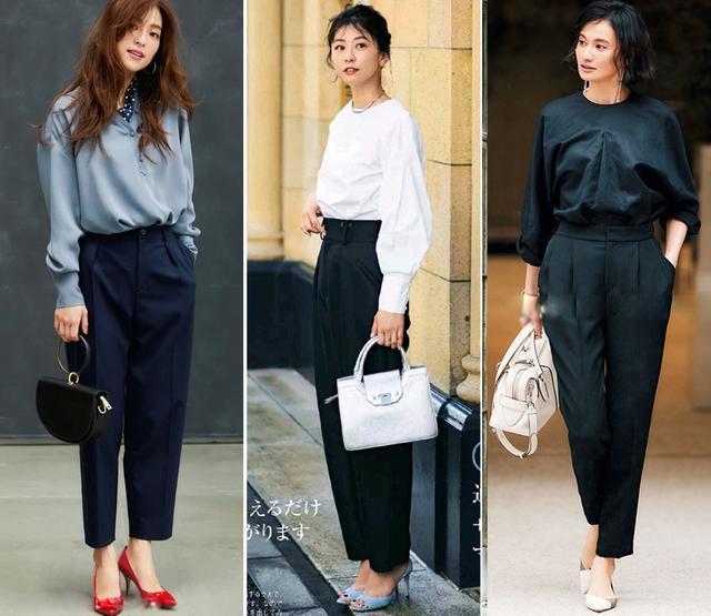 秋天黑色穿好也是一种高级,这些聪明的穿搭示范照着穿好美 穿搭技巧 第2张