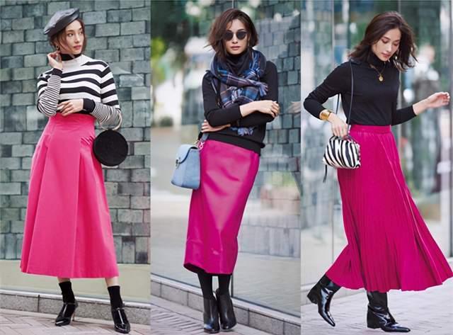日本时尚达人太会穿半身裙,简约高级又复古,每套都是借鉴模板 穿搭技巧 第5张
