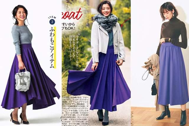 日本时尚达人太会穿半身裙,简约高级又复古,每套都是借鉴模板 穿搭技巧 第11张