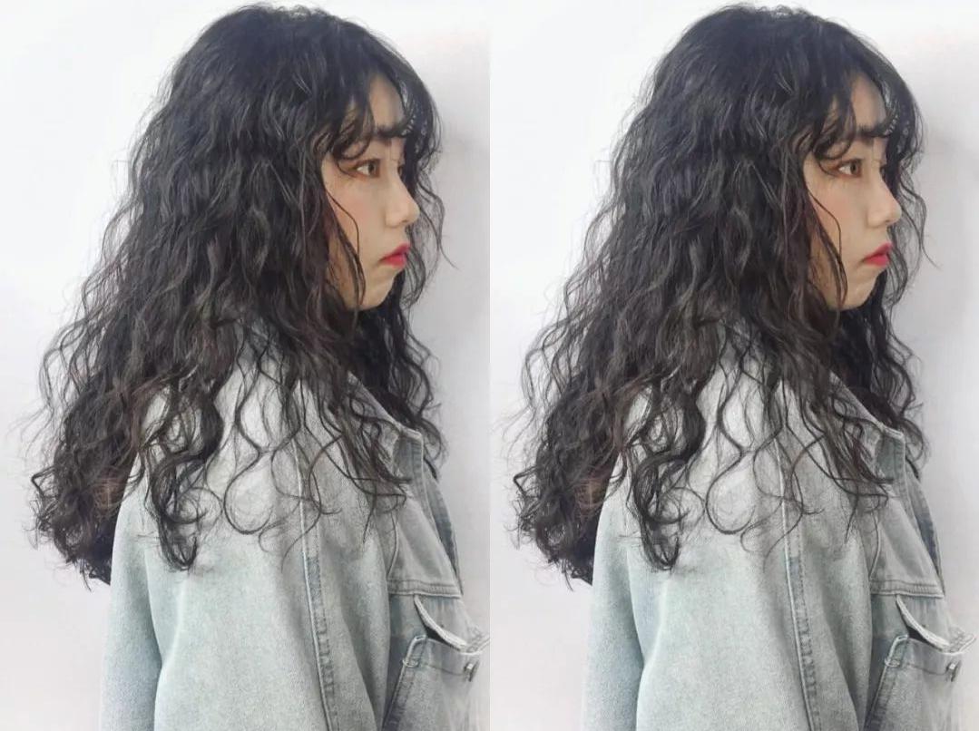 今冬流行烫满头发型20多款,时尚保暖烫完真洋气 美容健康 第6张
