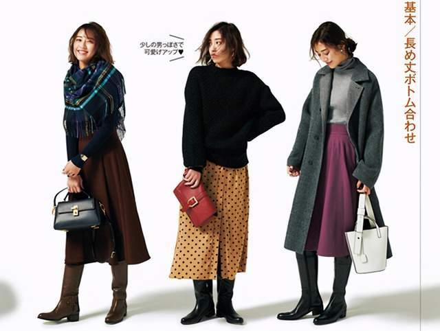 日本时尚达人太会穿半身裙,简约高级又复古,每套都是借鉴模板 穿搭技巧 第3张
