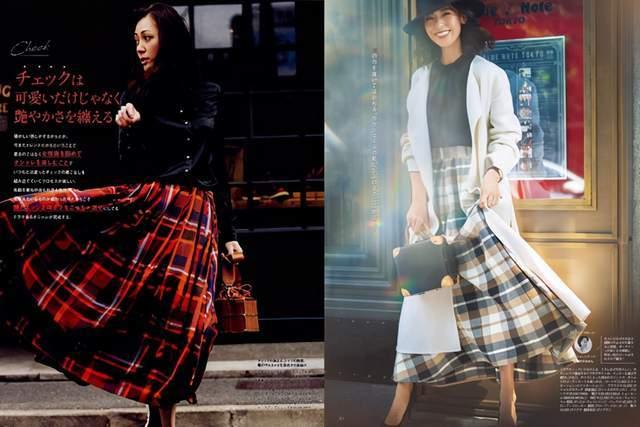 日本时尚达人太会穿半身裙,简约高级又复古,每套都是借鉴模板 穿搭技巧 第9张