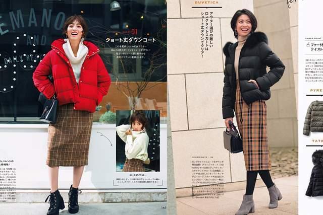 日本时尚达人太会穿半身裙,简约高级又复古,每套都是借鉴模板 穿搭技巧 第12张