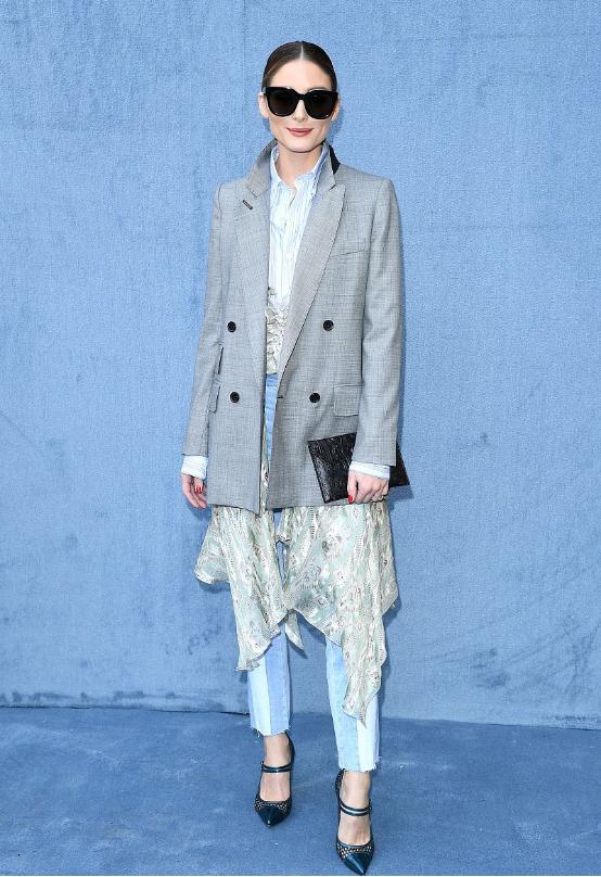 欧美街拍:小粗腿这样将能将西装穿出高级感,只要搭配直筒裤就够了 街拍潮人 第10张