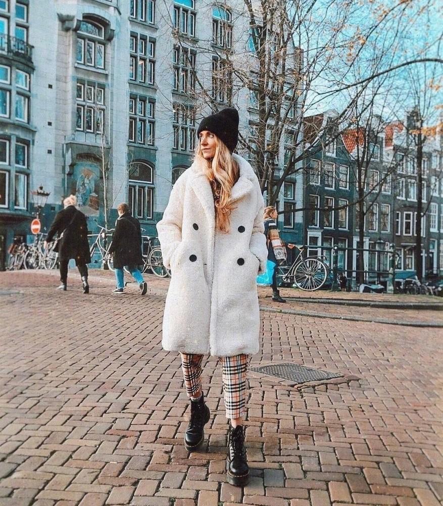 欧美街拍:马丁靴最佳示范穿搭来了,INS上的时尚大咖都爱不释手 街拍潮人 第2张